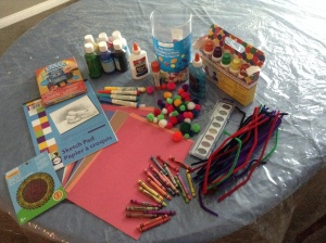 Here are some materials that are provided to my grandsons to encourage their spatial intelligence.