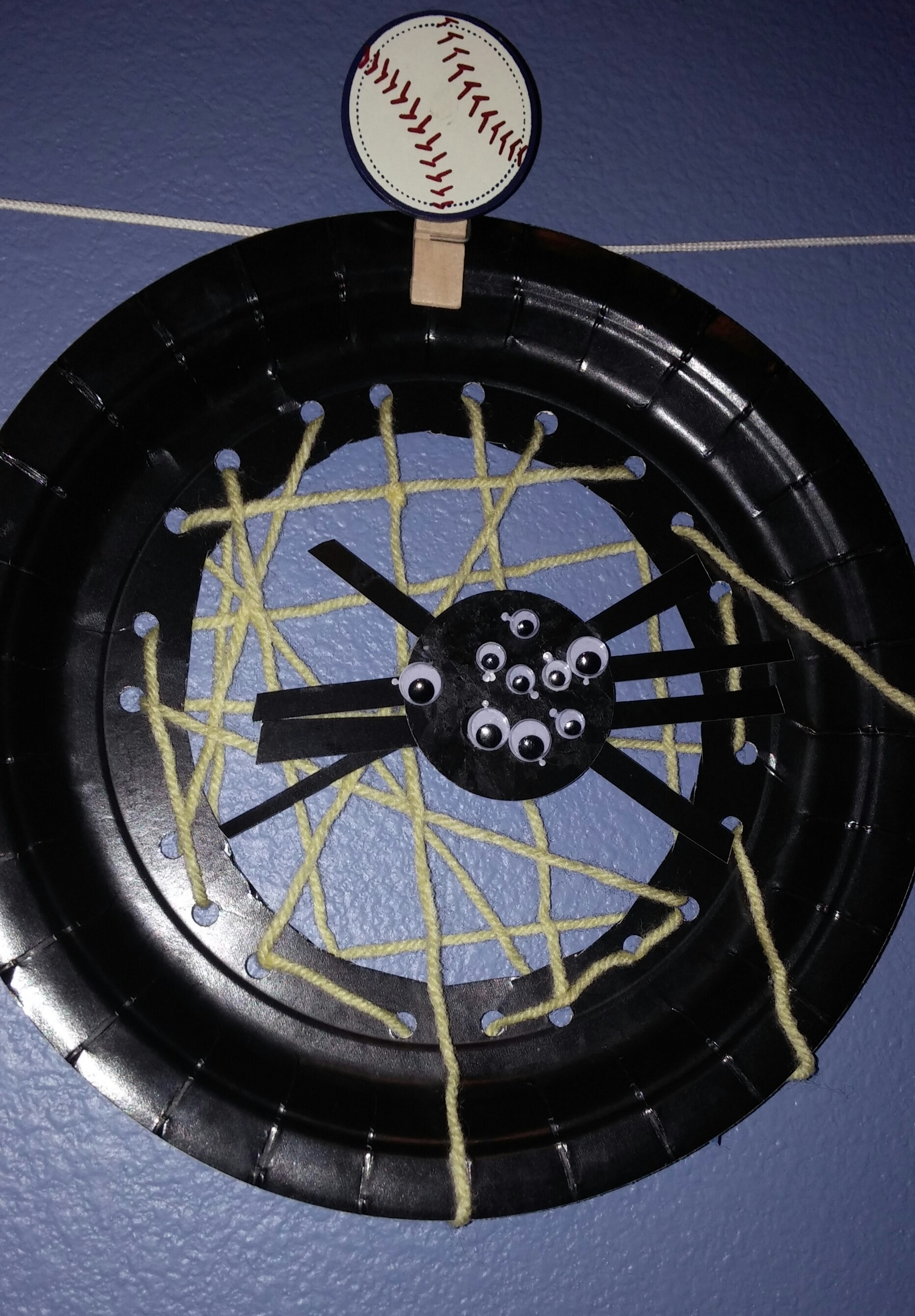 Spider web craft 1 & Kid Craft Challenge #1-Paper Plate Spider Web | Mimi and the Grands
